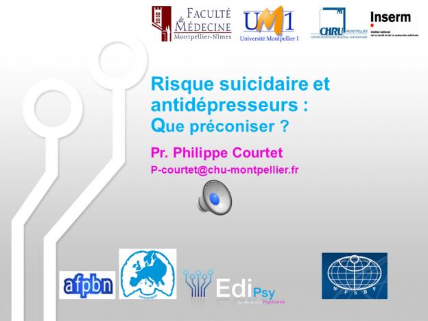 Antidépresseurs et suicide-EdiPsy